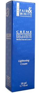 Fair and White Exclusive Whitenizer - Lightening Cream 50 ml - FairSkins.us