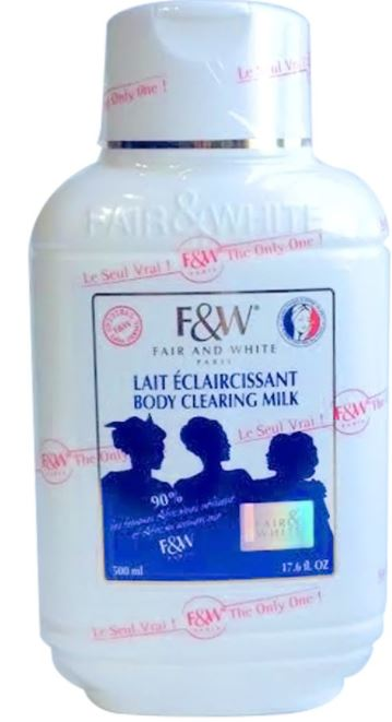 Fair and White Body Clearing Milk - FairSkins.us