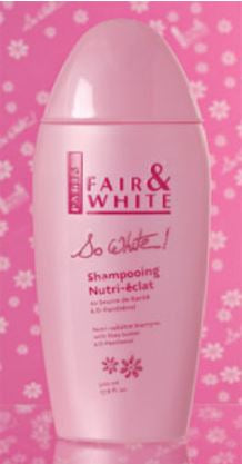 Fair and White: So White Nutri-Radiance Shampoo 500 ml - FairSkins.us