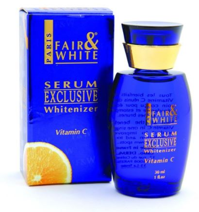 Fair and White Exclusive Serum w/ Vitamin C - FairSkins.us
