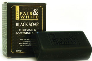 Fair and White Black Soap - FairSkins.us