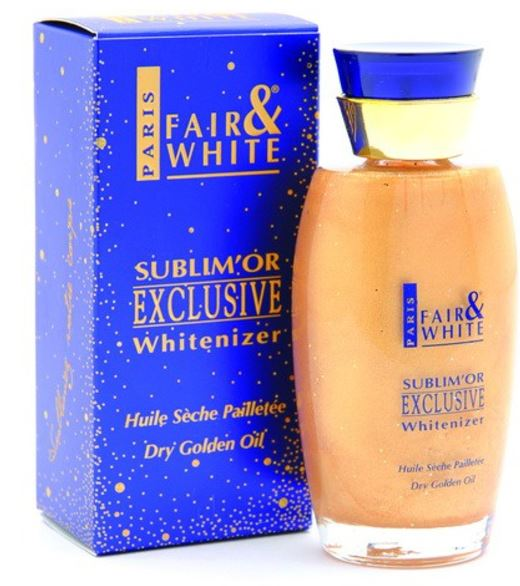 Fair and White Exclusive Dry Golden Oil 50 ML - FairSkins.us