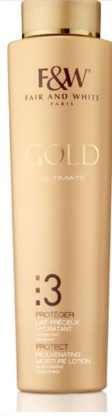 Fair and White 3: Protect Gold Rejuvenating Moisture Lotion 500ml - FairSkins.us