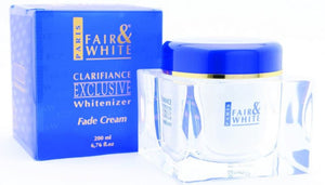 Fair and White Exclusive Whitenizer  Fade Cream 200ml - FairSkins.us