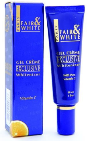 Fair and White Exclusive Gel Cream with Vitamin C  30 ml - FairSkins.us