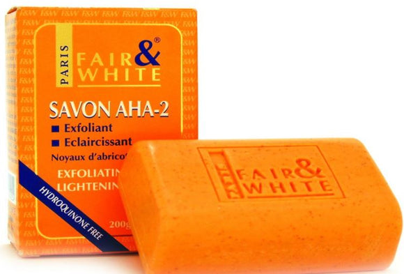 Fair and White Aha- Exfoliating and Brightening Soap - FairSkins.us