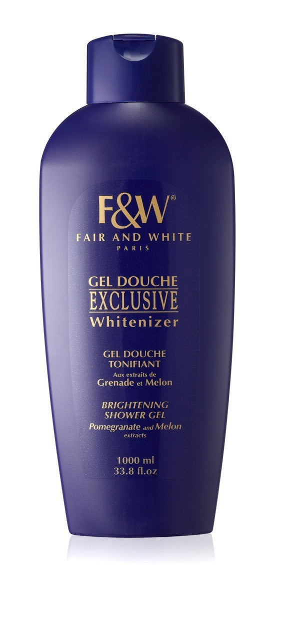 Fair and White Exclusive Shower Gel With Pomegranate And Melon Extracts 1000ml (Hydroquinone FREE!!!) - FairSkins.us