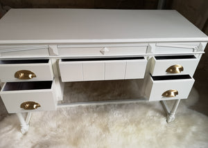 Remade Up-cycled 1970s Side Table/Dresser