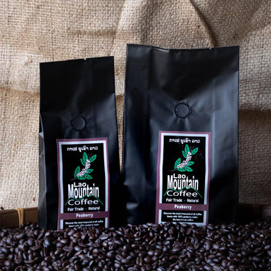 FREE SHIPPING worldwide, Peaberry 2Kg City roasted