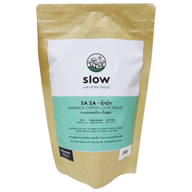 SLOW Sa Sa Arabica Coffee Light Roast 200g