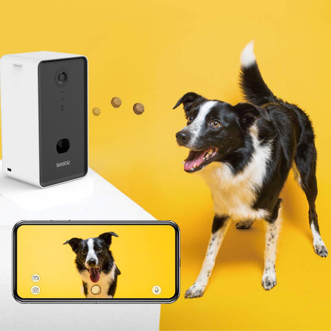 Dog Camera Treat Dispenser WiFi Remote Pet Camera