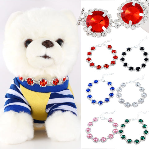 Bling Princess Dog Collar Special Pet Multi-size Necklace