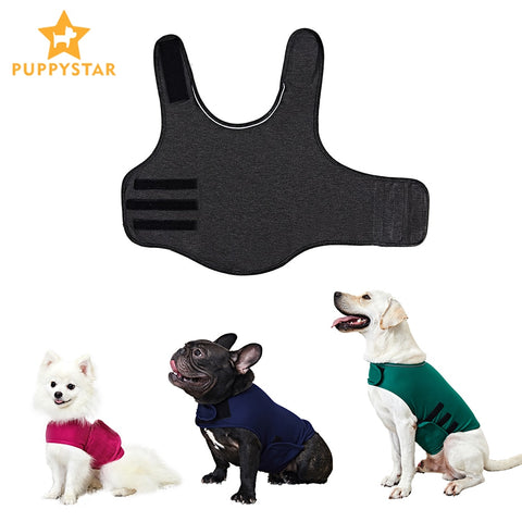 Dog Anxiety Jacket Reflective Vest For Small Medium Large Dogs Thunder Dog Clothes Shirt