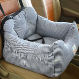 Pet Dog Carrier Car Seat Pad With Safety Belt