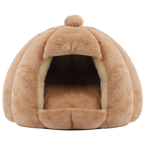 Pet House Warm Small For Cats Dogs Nest Collapsible Cat Cave Cute Sleeping Mats