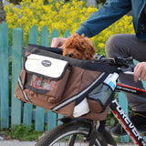 MYLB new fashion Pet Bicycle Carrier Bag Puppy Dog cat Travel Bike Carrier Sea