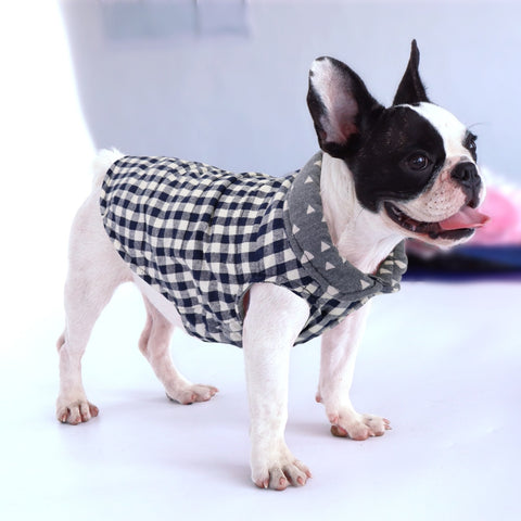 Print French Bulldog Clothes Small Dog Pet Clothes