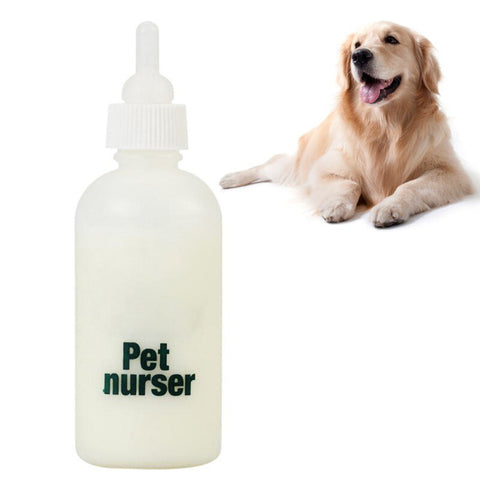 Puppy Kitten Feeding Bottle Pet Nursing Bottle With Four Nipples