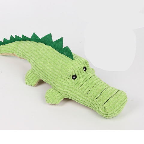 Sound Dog Toys Gomaomi Crocodile Shape