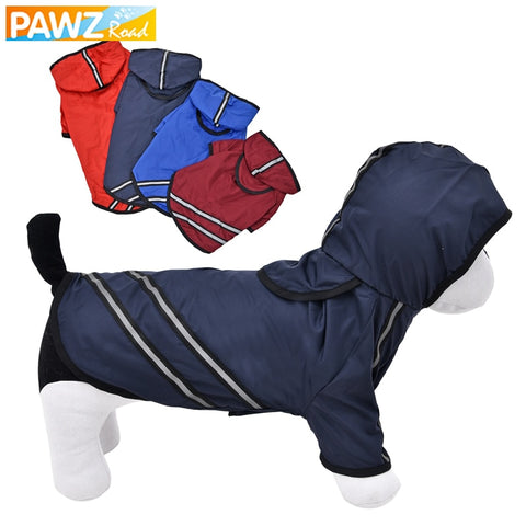 Dog Raincoat Breathable  Reflective Pet Clothes Waterproof