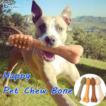 Toothbrush Shaped Dog Teeth Stick Chewing Bones