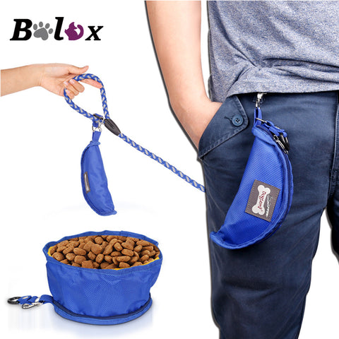 Portable Folding Pet Dog Bowls Waterproof