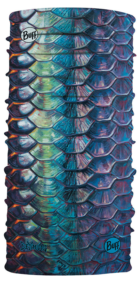 THE ORIGINAL BUFFS COOLNET UV+ DEYOUNG - TARPON FLANK