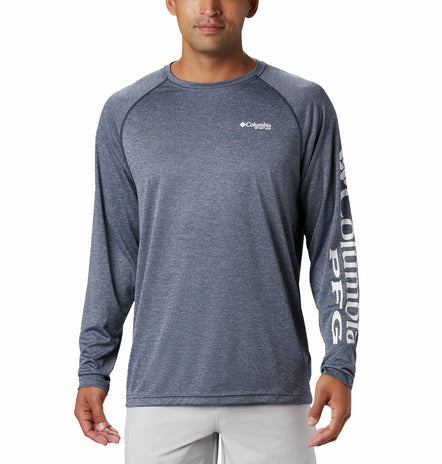 COLUMBIA - MENS TERMINAL TACKLE HEATHER LONGSLEEVE