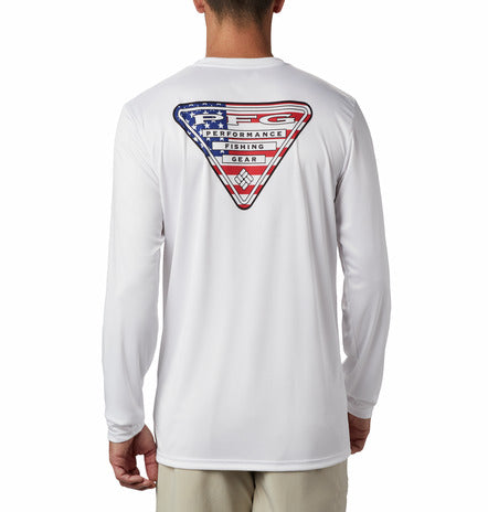 COLUMBIA - MENS TERMINAL TACKLE PFG LONG SLEEVE