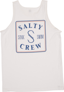SALTY CREW - MENS SQUARED UP TANK