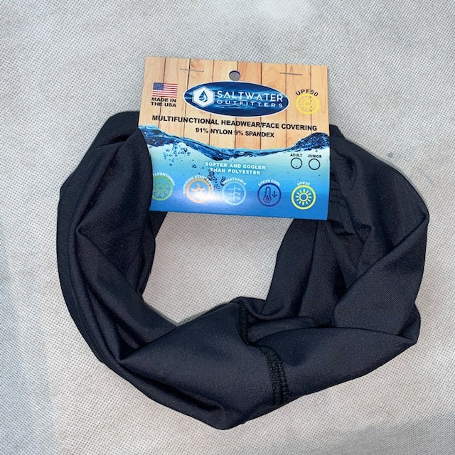 SALTWATER OUTFITTERS MULTIFUNCTIONAL HEADWEAR- FACE COVERING