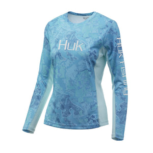 HUK - LADIES CAMO ICON X LONGSLEEVE