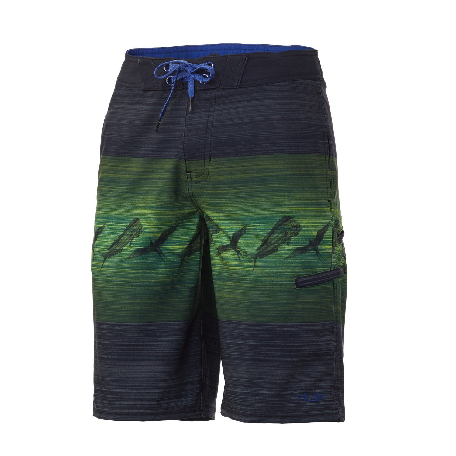 HUKK - YOUTH OUTRIGGER PRINT SHORT