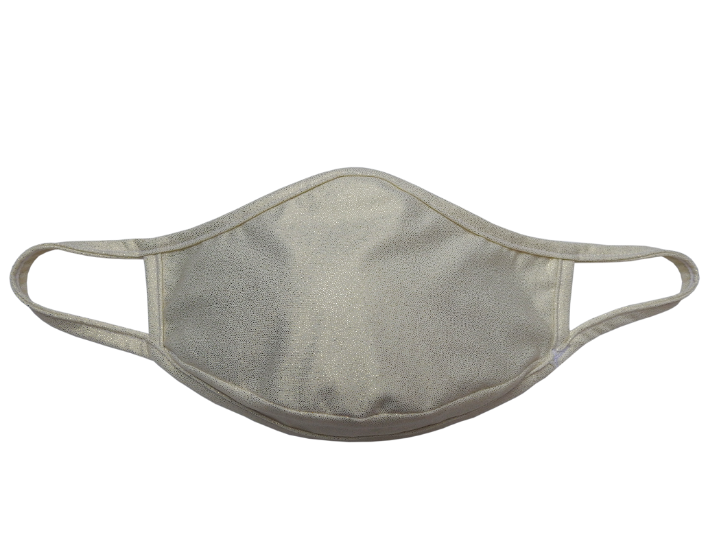 MASQINI - ADULT IVORY FACE MASK
