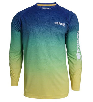 HOOK - MENS OMBRE LONGSLEEVE TECH TEE