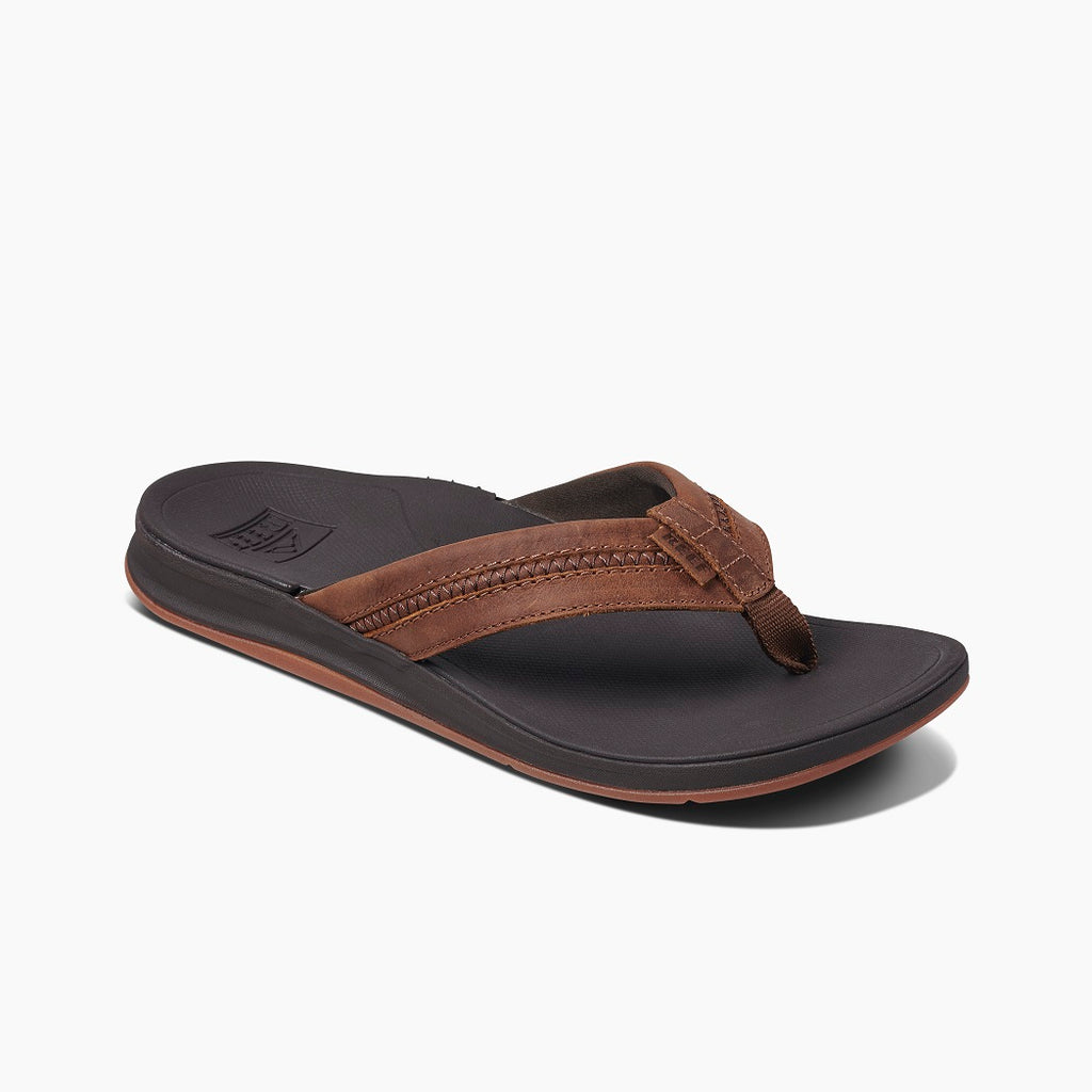 REEF - MENS LEATHER ORTHO-BOUNCE COAST