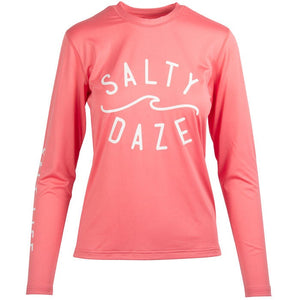 SALT LIFE - LADIES SALTY DAZE AQUASHIRT