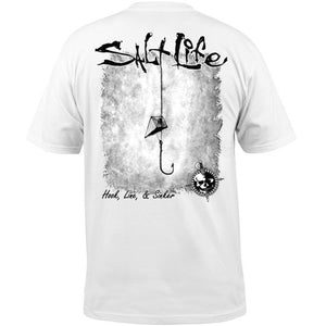 SALT LIFE - MENS HOOK LINE AND SINKER TEE