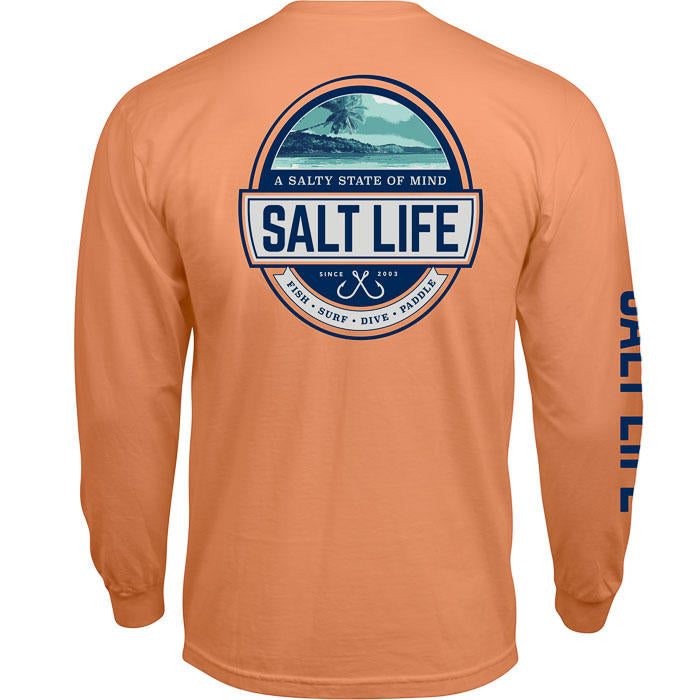 SALT LIFE - MENS SCENIC STATE OF MIND LONG SLEEVE