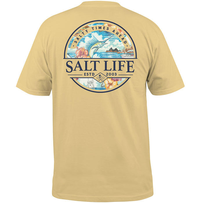 SALT LIFE - MENS SALTY TIMES AHEAD TEE