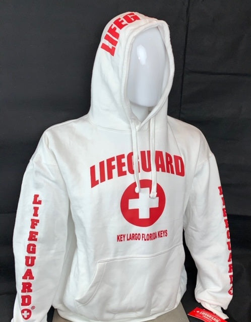LIFEGUARD OFFICIALLY LICENSED KEY LARGO FLORIDA KEYS LIFEGUARD HOODIE