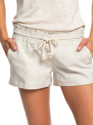 ROXY - LADIES OCEANSIDE LINEN SHORT