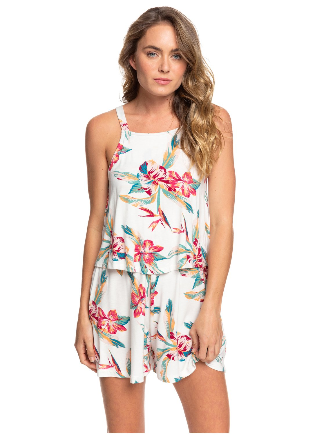 ROXY - LADIES FAVORITE SONG STRAPPY ROMPER