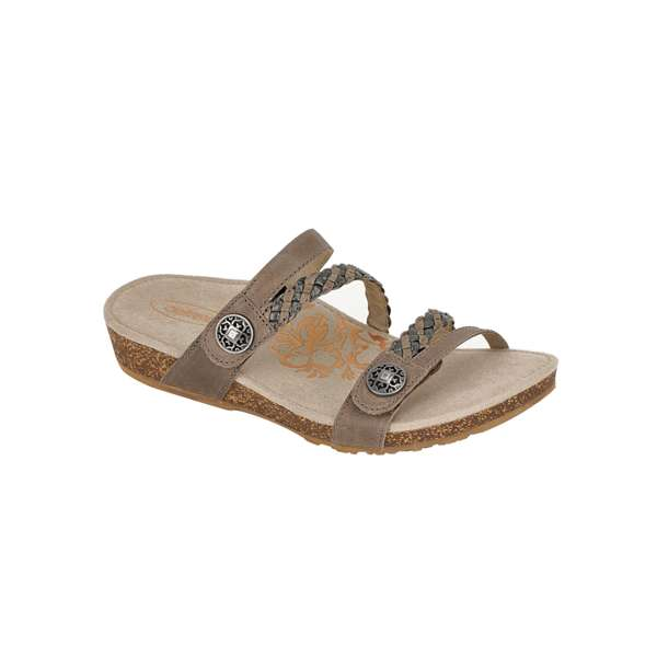 AETREX - LADIES JANEY BRAIDED SLIDE