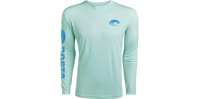 COSTA - MENS TECHNICAL CREW LONG SLEEVE