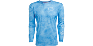 COSTA - MENS TCH TOPOGRAPHIC LONGSLEEVE