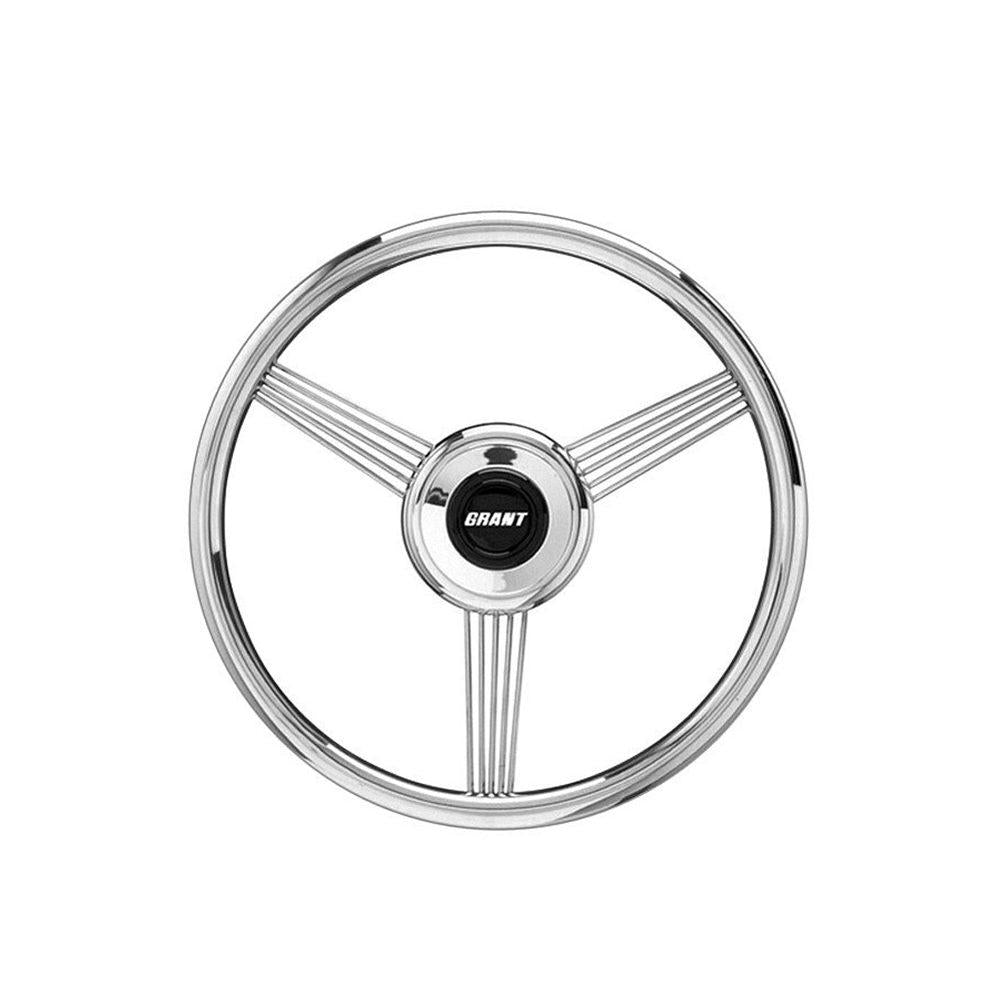 Uniqus Jameo Auto Stainless Steel Car Steering Wheel