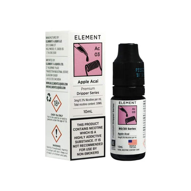 Element- Apple Acai Dripper 10ml