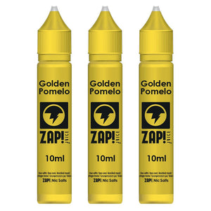 Golden Pomelo E-Liquid by ZAP! Juice High VG (30ml (3x10ml) - 6mg Nicotine)