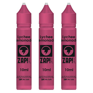 Lychee Lemonade E-Liquid by ZAP! Juice High VG (30ml (3x10ml) - 0mg Nicotine)